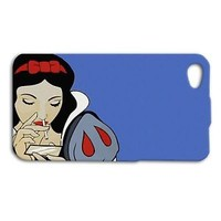 Funny Disney Phone Case Cute 420 Snow White Cover iPhone Blue Cute Custom Fun