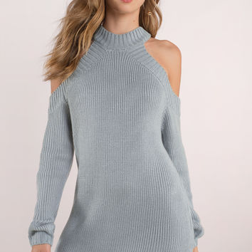 Half Thought Sweater Dress