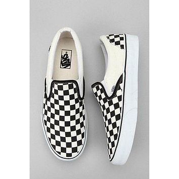 Vans Checkerboard Slip-On Sneakers
