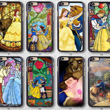Beauty and the Beast Protective Phone Case For iPhone case & Samsung case, H51
