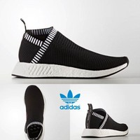 ADIDAS NMD CS2 PK Unisex Running Shoes Sneakers Size 4-11 Black BA7188