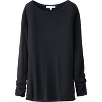 WOMEN IDLF CASHMERE BLEND CREW NECK SWEATER | UNIQLO
