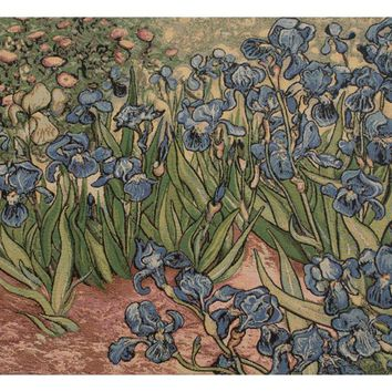 Iris Small by Van Gogh Italian Tapestry