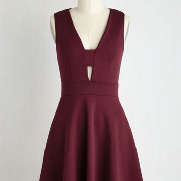 Mid-length Sleeveless A-line Second Date Delight Dress