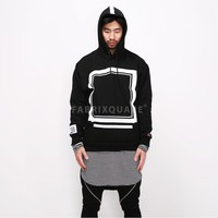 Mens XQUARE ELVIRA Frame Champion Hoodie at Fabrixquare