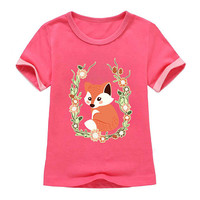 fox Iron on Patch fox embroidery applique fox iron on patch fox iron on decals transfers sticker for kids children's ikpa36