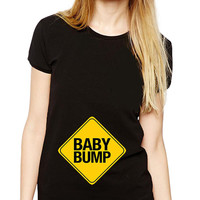 Baby Bump - Maternity Clothes - Maternity Shirt - Cute Baby Announcement - Pregnancy Shirt - Pregnant Shirt - New Baby - Expecting