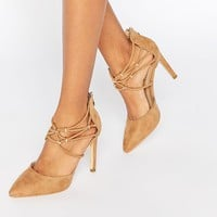 Truffle Collection Nova Multi Ankle Strap Heeled Sandals