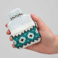 Mini Hottie Hand Warmer- Turquoise One