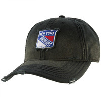New York Rangers - Nero Logo Adult Adjustable Baseball Cap