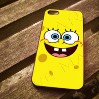 Sponge Bob For iPhone 4/4S iPhone 5/5S/5C and Samsung Galaxy S3/S4 ellocase