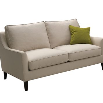 HOVER BEIGE FABRIC LOVESEAT