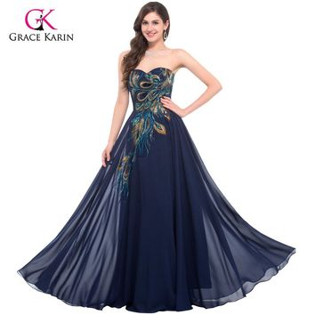 Peacock Bridesmaid dresses - Formal Gowns - Prom Dress - Free Shipping