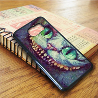 Madhatter Chershire Cat Samsung Galaxy S6 Edge Case