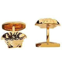 Men's Cufflinks Real Gold Plating Copper Material