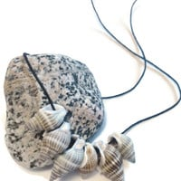 SeaShell Jewelry, Conch Necklace, Mermaid Beach Accessory, Unique Minimalist Necklace, Proceeds to Charity