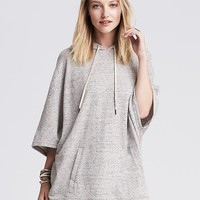 Banana Republic Womens French Terry Poncho