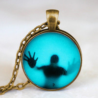 The Walking Dead Pendant charm Steampunk Necklace