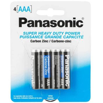 Panasonic AAA Disposable Batteries 100 pack