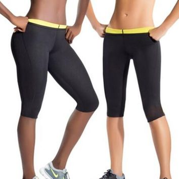 Womens Running Athletic Sport Fitness Clothes Jogging Unisex Body Trimmer Yoga Shorts Neoprene Breathable Ladie Girl Short Pants