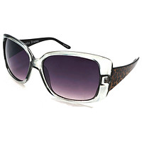 Women's Oversized Fashion Sunglasses - Garbo Do The Mambo - Grey
