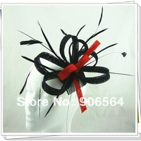 Free shipping 17 colors available kentucky derby sinamay fascinator hats good bridal wedding hats cocktail hats Very nice MSF179