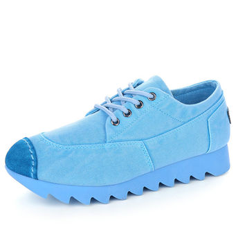 Casual Breathable Canvas shoes Non-Slip Bottom Shoes