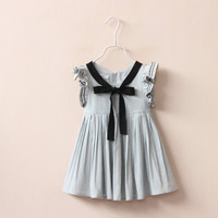 Women Ribbon Dress Skirt Kids Boys Girls Baby Clothing Toddler Bodysuits Products For Children _ 4723