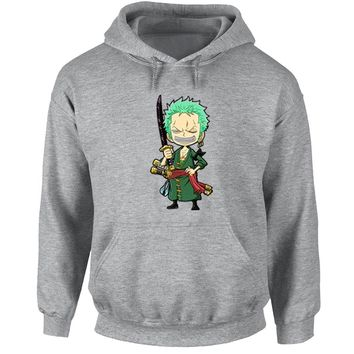 One Piece Zoro Japanese Cosplay Fans Hoodies Men Women Girl Boy Anime  Zorua Sweatshirt Casual Jackets Warm Cotton CoatsKawaii Pokemon go  AT_89_9