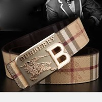 BURBERRY  Woman Fashion Smooth Buckle Belt Leather Belt H-A-GFPDPF