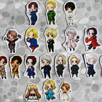 Hetalia Stickers set
