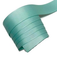 "Aqua blue 7/8"" grosgrain ribbon"