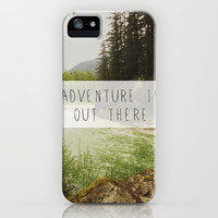 adventure is out there. iPhone & iPod Case by lissalaine