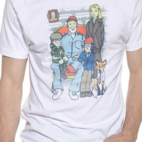 Wes Anderson Family Portrait Tee