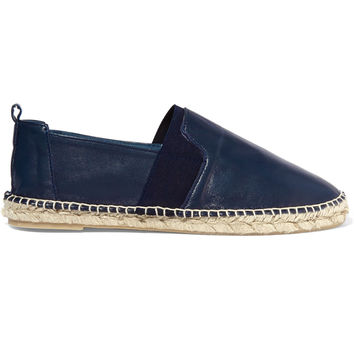 Iris and Ink Sullivan leather espadrilles – 0% at THE OUTNET.COM