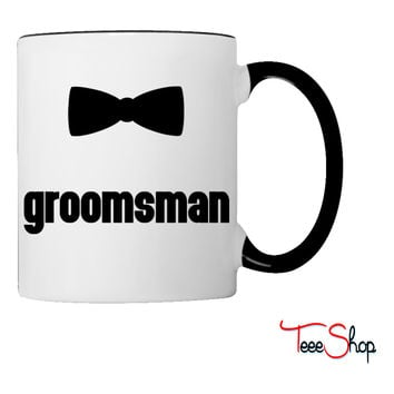 Groomsman Bow Tie Coffee & Tea Mug