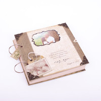 Wedding Scrapbook  Photo Album  Family scrapbook Album Anniversary Gift - Personalized with Dates & Events