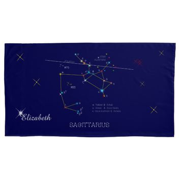 Constellation SAGITTARIUS unique, impressive Pillow Case