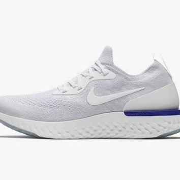 1803 Nike Epic React Flyknit Men's Training Running Shoes AQ0067-100