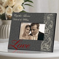 Personalized Valentine's Day Picture Frame