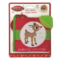 Rudolph the Red-Nosed Reindeer 'Ready for Christmas' Soft Book