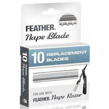 Feather Nape Razor Blades - Barber Supplies