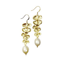 Sirissima | Garland Freshwater Pearl Earrings