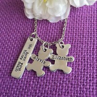 Mom Necklace Mother's Day  Gift - Personalized Mother Necklace. Momma's Bears, Name Teddy Bear Necklace, Personalized Jewelry Gift for Mom