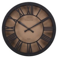 Threshold™ Wall Clock - Antique Bronze