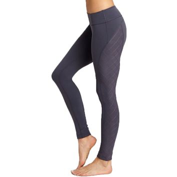 Quilted Side Panel Legging
