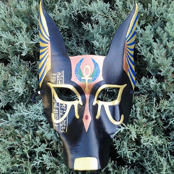Anubis Leather Mask-Made to order