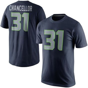 VZ VARE ZANE Official Men's Seattle Kam Chancellor t shirts Jerseys Seahawks Color Rush Player Pride Name & Number