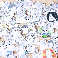 Funny Bunny Flake Sticker Pack (40Pcs)
