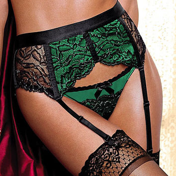 Limited-edition Lace Garter Belt  - Very Sexy - Victoria's Secret